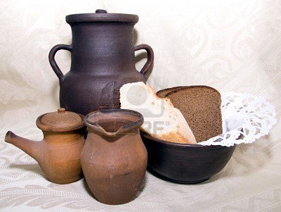 Глиняная посуда: горшки для запекания